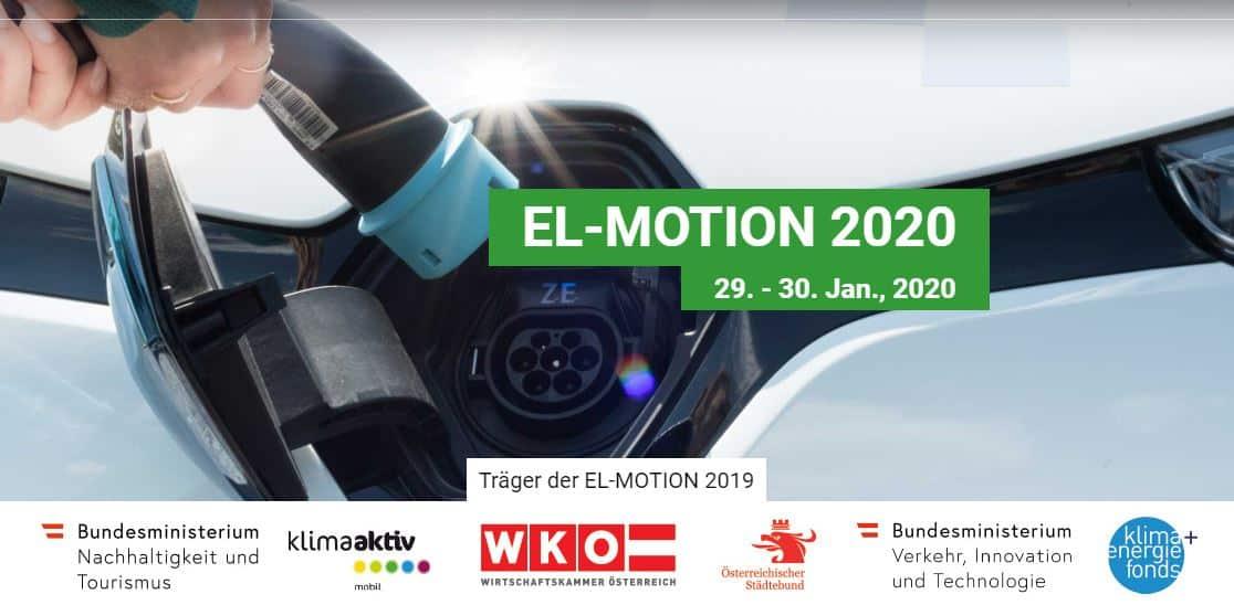 EL-MOTION 2020 – der 10. österreichische Fachkongress rund um E-Mobilität für KMU und kommunale Anwender » Header