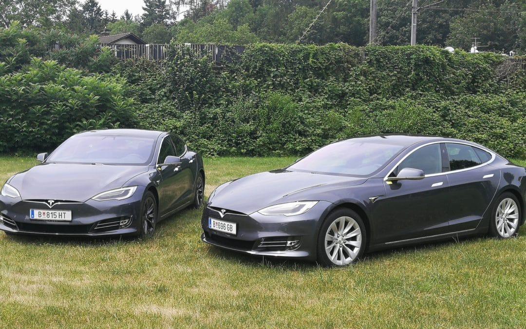 Mit dem TESLA Model S zu den Flughäfen um Vorarlberg