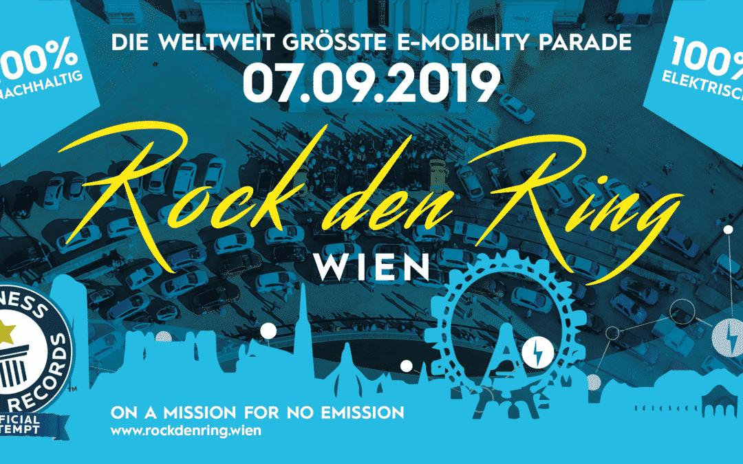 Rock den Ring – E-Mobility Parade
