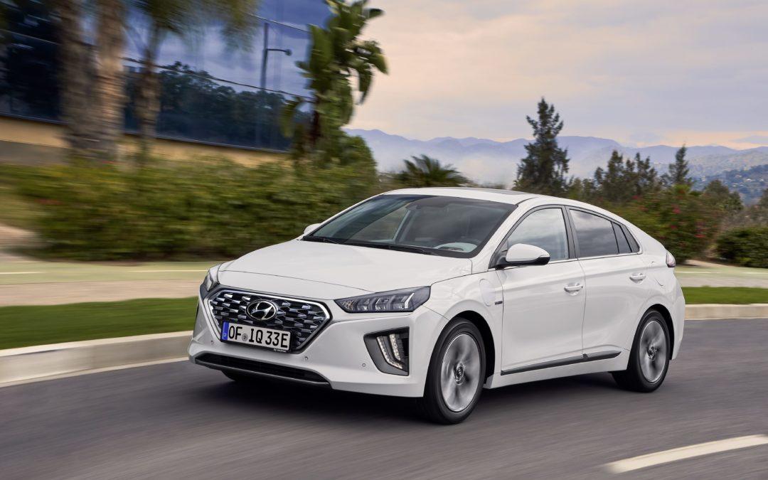 Fünf-Sterne von Euro NCAP für Hyundai IONIQ Facelift