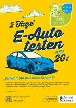 Steiermark - 2 Tage E-Auto testen um nur 20 Euro   Plakat Bild WEB Steiermark