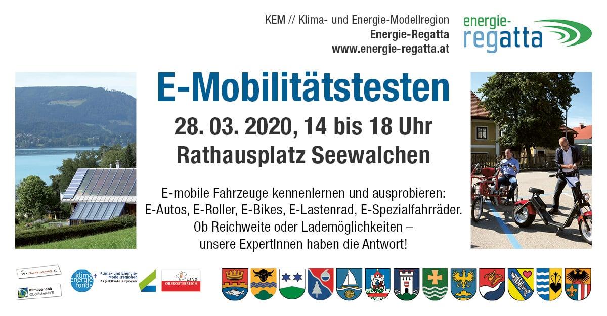 E-Mobilitätstesten | kem regatta veranstaltungen2020 emobiltest fb