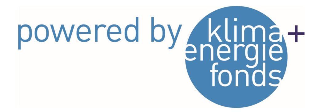 Klima energie fonds. Logo
