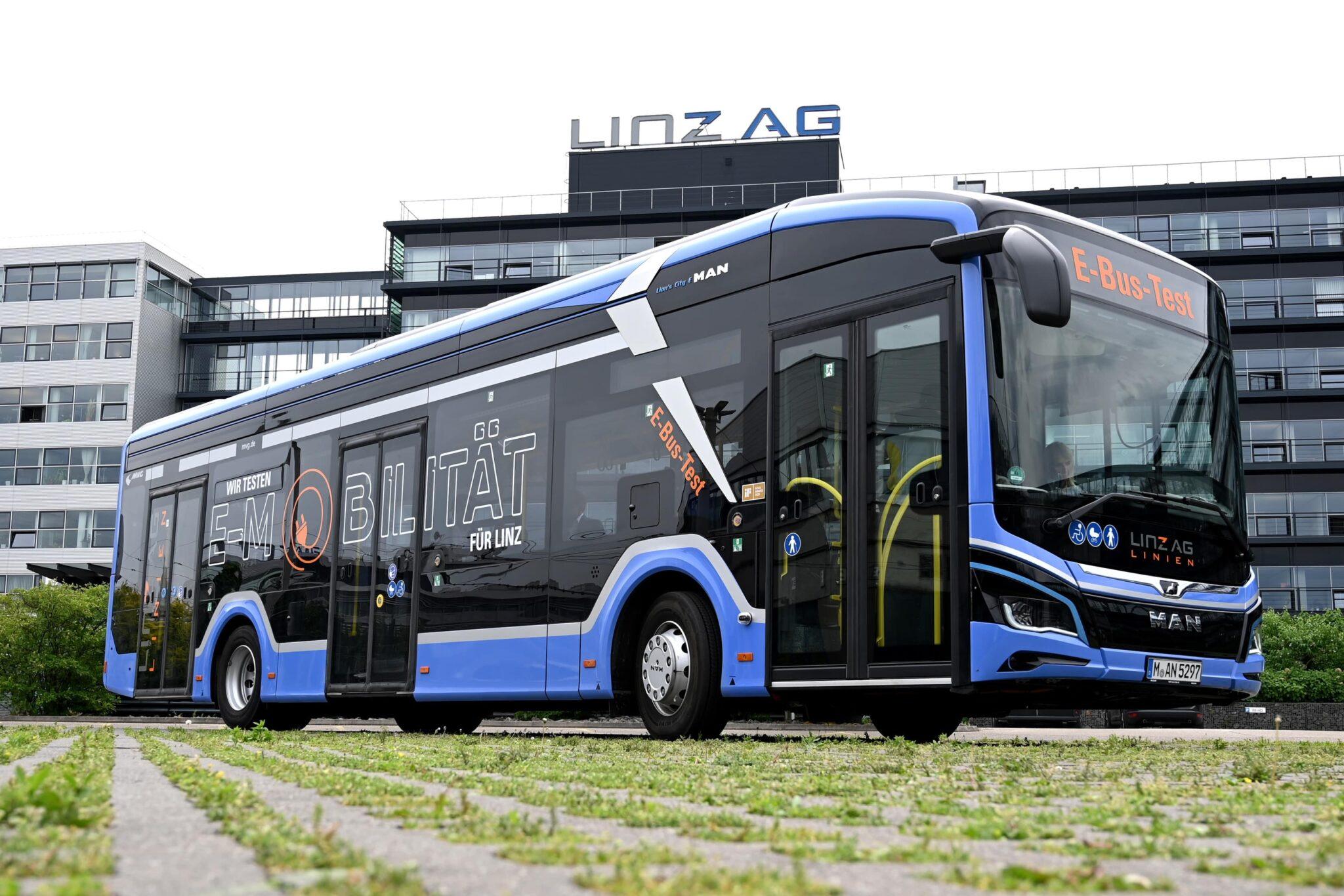 Münchner E-BUS zum Praxistest in Linz » e bus praxistest in linz quer min scaled