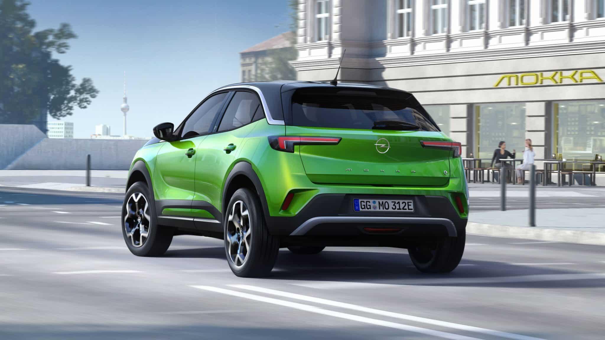 Opel Mokka elektrisch und voller Energie » 03 Opel Mokka e 512165 min scaled