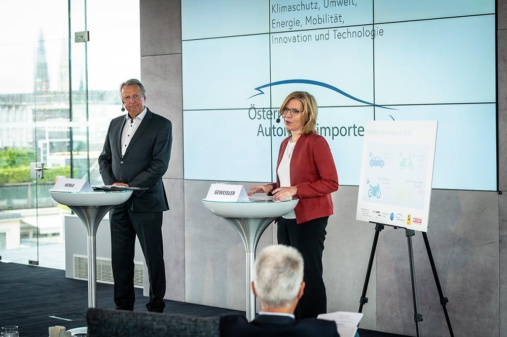 Klimaschutzministerium und Automobilimporteure: Start der Offensive für E-Mobilität » E Mobilität BMK Cajetan Perwein 4