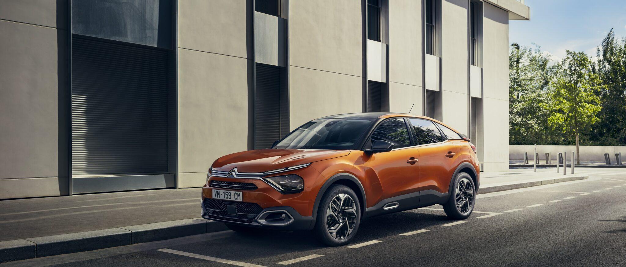 Neuer ë-C4 - Citroën erfindet die Kompaktlimousine NEU! » CL 20.026.008 min scaled