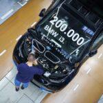 BMW Group Werke Dingolfing und Landshut feiern Meilenstein der Elektromobilität » P90404271 highRes 200 000 bmw i3 produ min