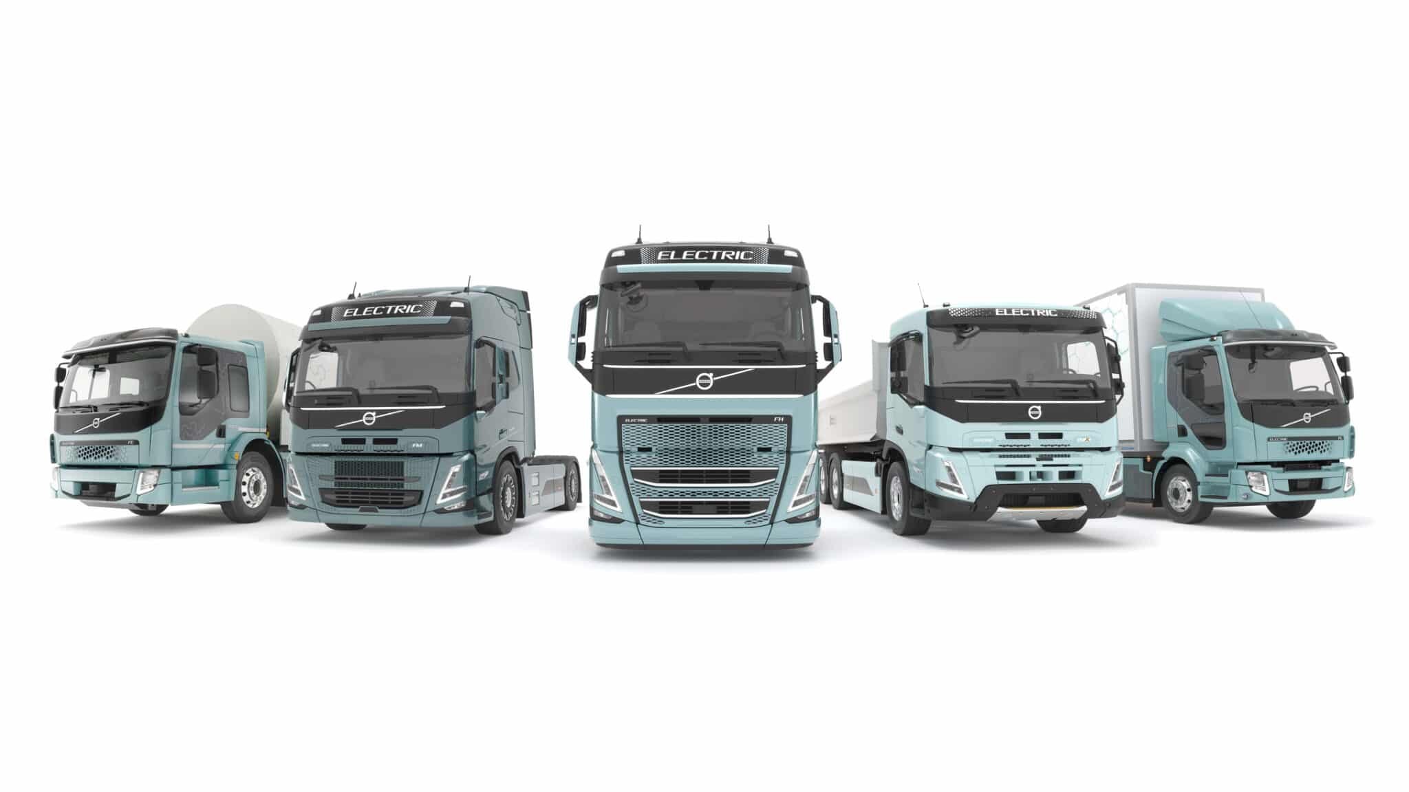 Volvo Trucks verkauft ab 2021 komplette Modellpalette elektrisch angetriebener Lkw » electric trucks starting in europe min scaled