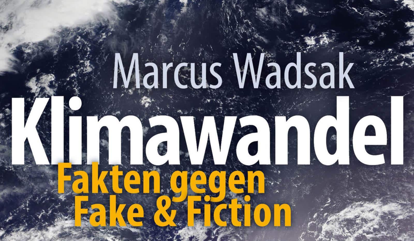 eMobility - Livestream - Klimawandel | Buch Cover Marcus Wadsak geschnitten