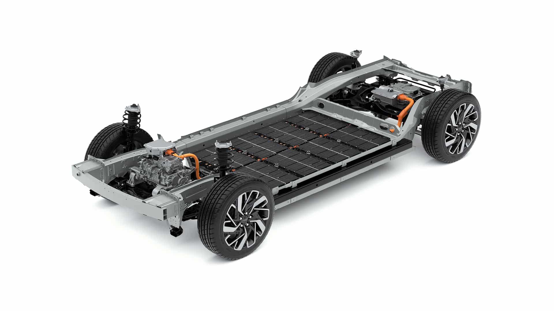 E-GMP neue E-Plattform der Hyundai Motor Group » Kia E GMP mit Chassis 03