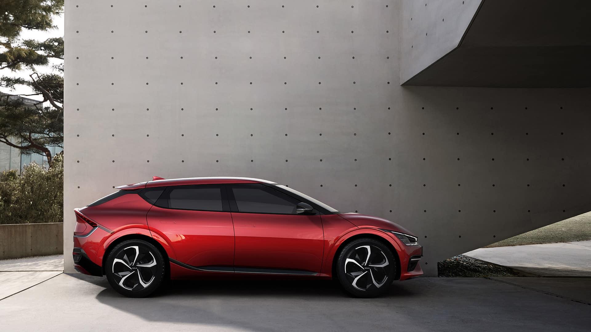 Kia EV6 definiert E-Mobilitätsgrenzen | EV6 GT