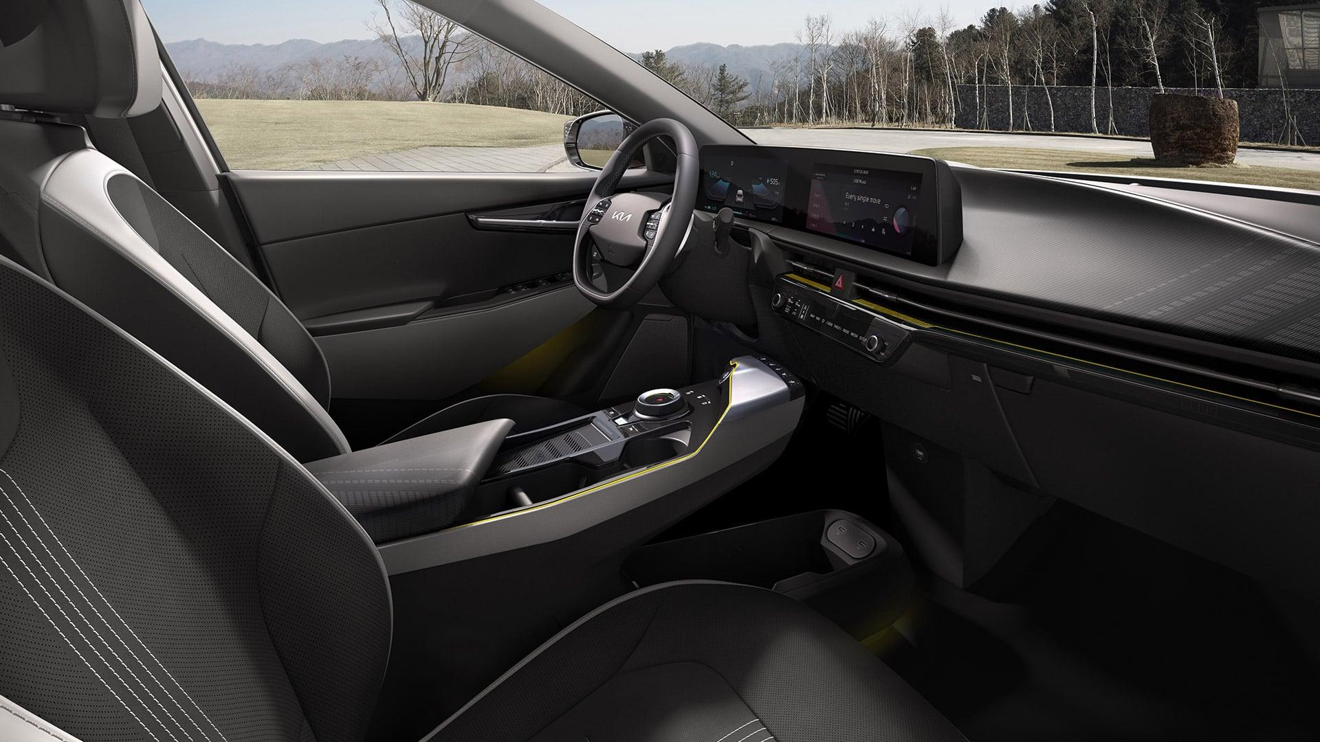 Kia EV6 definiert E-Mobilitätsgrenzen | EV6 GT Line int 01