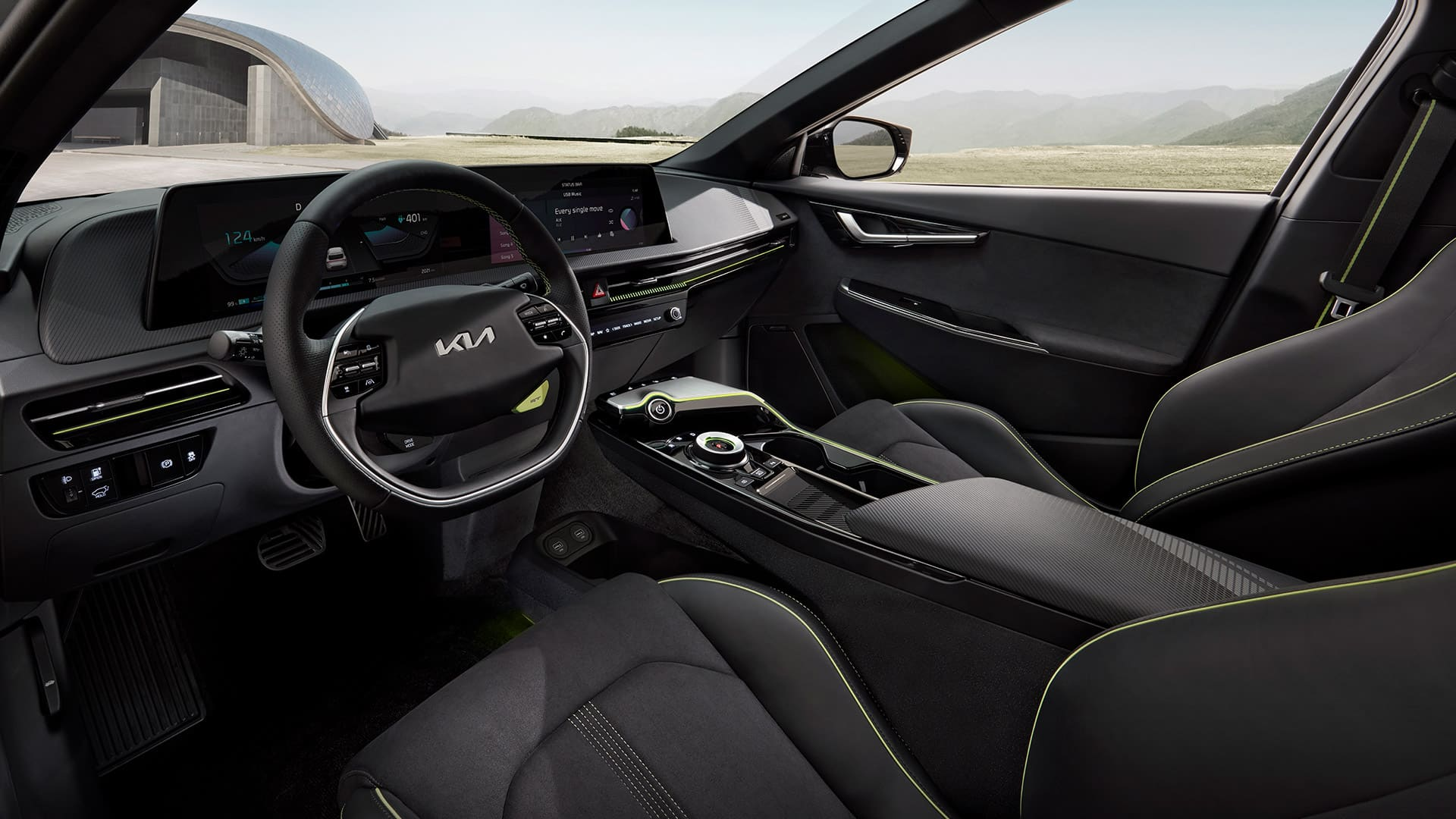 Kia EV6 definiert E-Mobilitätsgrenzen | EV6 GT int 03