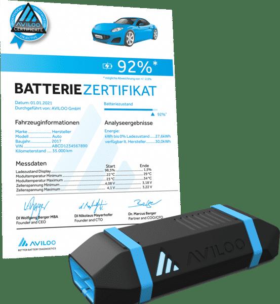 eMobility - Livestream - E-Auto Batterie-Diagnose | certificate 2021