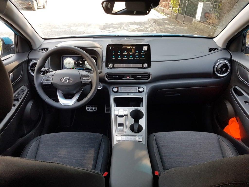 Hyundai Kona EV Facelift - Praxistest | 20210425 105954 Innenraum