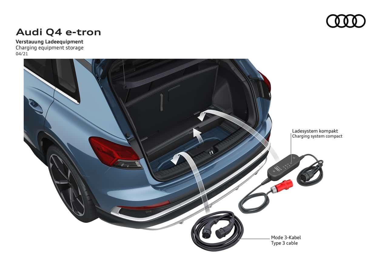 Audi Q4 e-tron und der Q4 Sportback e-tron » Audi Q4 50 e tron quattro  11