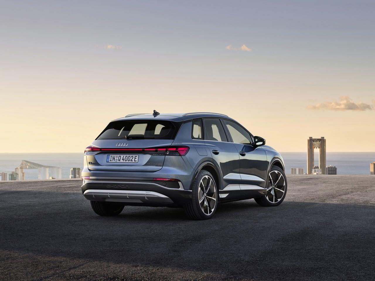 Audi Q4 e-tron und der Q4 Sportback e-tron | Audi Q4 50 e tron quattro  55