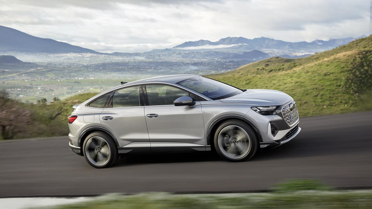 Audi Q4 e-tron und der Q4 Sportback e-tron » Audi Q4 Sportback 50 e tron quattro  2