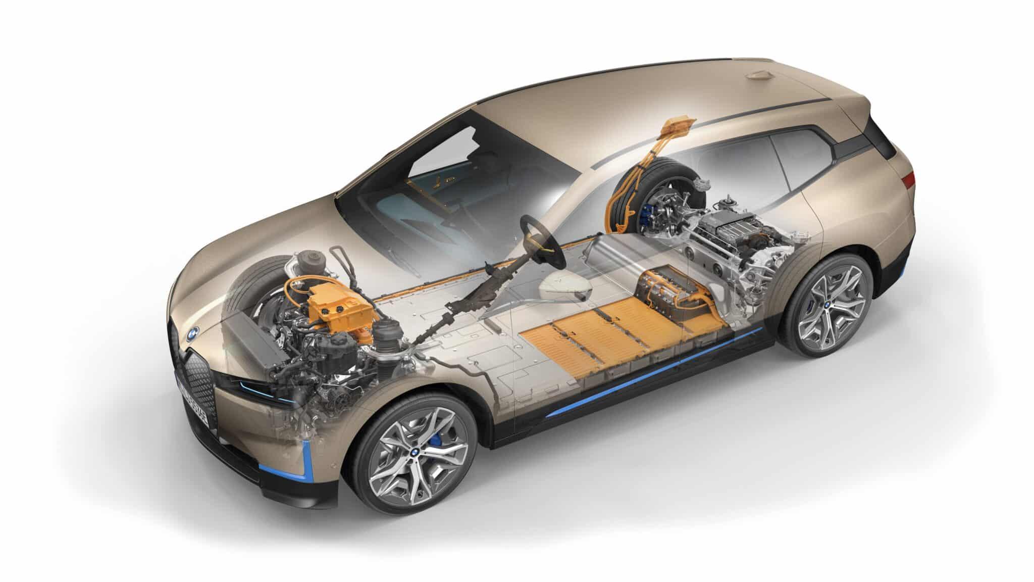 Der erste BMW iX. | P90422861 highRes bmw gen5 powertrain min scaled