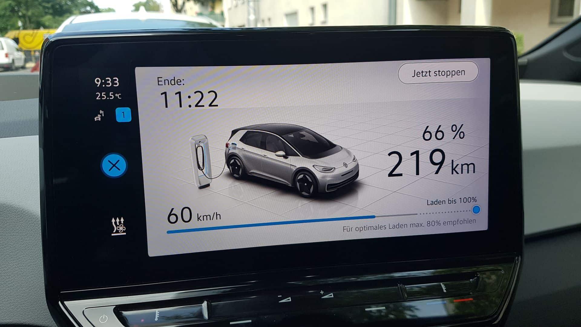 Volkswagen ID.3 - Praxistest | 20210623 093304 Display min