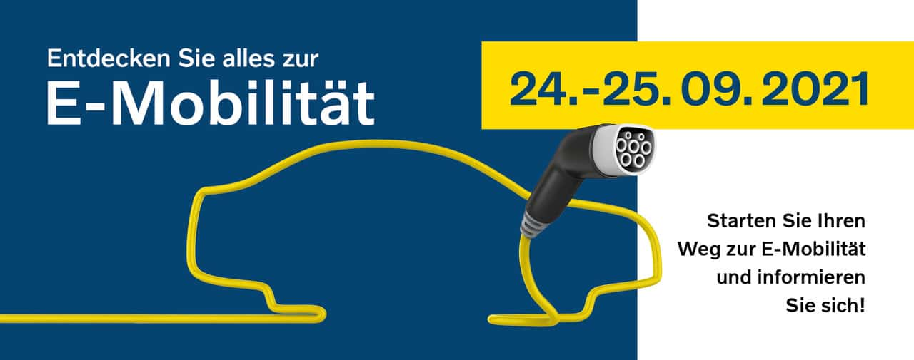 Alles über E-MOBILITÄT - Autohaus Seidnitzer & Partner GmbH | Banner E Mobilität 1905x752 0821 2