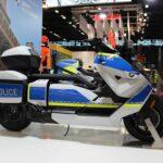 Der neue BMW CE 04 in der Polizeiversion | P90441192 highRes bmw motorrad at mili min